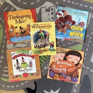 Children's Thanksgiving Book Bundle Set of 5